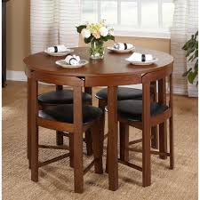 Kitchen Furniture For Small Spaces Round Dining Table Set Small Spaces 5 Pc Kitchen Furniture Dorm