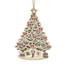 classic tree ornament 2017 chemart ornaments solid