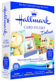 Invitation Card Maker Software Hallmark Card Studio Deluxe Version 12 Pc Amazon Co Uk Software
