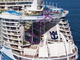 cruise ship the world how the world s largest cruise ship was built business insider