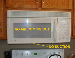 microwave with exhaust fan common defects with range hood fans homesmsp