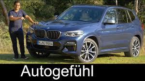 2018 x3 g01 u s bmw x3 m40i full review all new suv 2018 neu autogefühl youtube