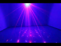 mini stage lighting remote 12 patterns laser projector dj disco