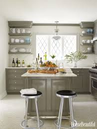 kitchen nice kitchen open shelving and cabinets lovely metal
