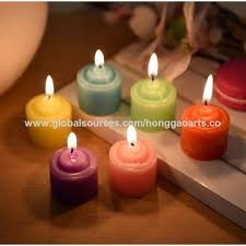 Light Dinner China Rose Candle Hand Flower Color Flower Candle Light Dinner