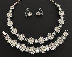 vintage wedding necklace images Vintage jewelry sets etsy jpg