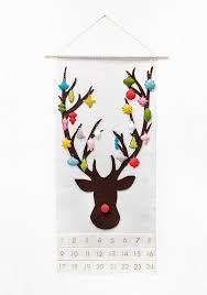 advent calendar advent calendar pattern felt advent calendar rudolph