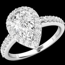 all diamond rings images Art deco style ring diamond cluster engagement ring for women in png