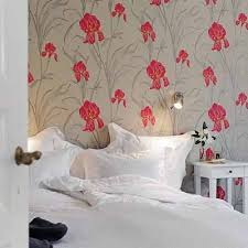 bedroom wall patterns bright bedroom wall decoration with modern wallpaper