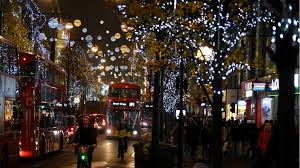 how long are christmas lights oxford street christmas lights charting the ever earlier start of