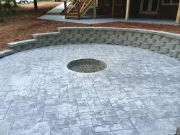 Concrete Patio Vs Pavers by Stamped Concrete Vs Pavers 864 314 0027