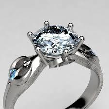 wars wedding bands rebel alliance wars engagement ring in palladium white gold