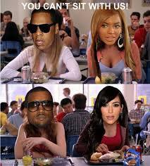 Kanye And Jay Z Meme - jay z beyonce and kanye kim funny pinterest humor funny