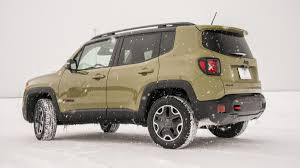 trailhawk jeep green 2015 jeep renegade trailhawk winter drive review autoweek