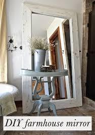 Mirror Decor In Living Room by Best 25 Diy Mirror Ideas On Pinterest Cheap Wall Mirrors Farm