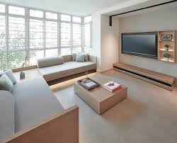 j apartment contemporary living room singapore by right