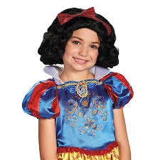 Princess Halloween Costumes Kids Amazon Disguise Disney Princess Snow White Child Wig Toys