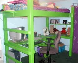Diy Loft Bed With Desk by 3d Plans Loft Bed Ask The Builderask The Builder