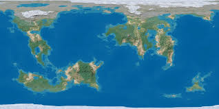 Earth Maps World Map Empty By Sriseru D5tg5rs Png 1264 632 D U0026d Maps