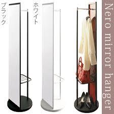hang hanger rack with mirror coat hanger nordic hanger stand rack