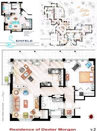 simpsons house floor plan as seen on tv floor plans from famous television series ign boards