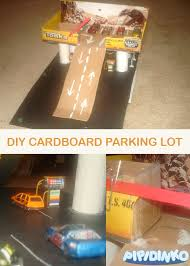 my life with pipidinko a cardboard parking lot