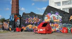 The Bench Graffiti The Bench 504 U0027s 10th Birthday Jam Uk Street Art