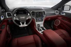 cars jeep grand cherokee extreme machine jeep grand cherokee trackhawk the most powerful