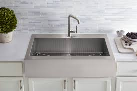 Kitchen Sink With Backsplash Kohler Farm Style Kitchen Sinks Hypnofitmaui Com