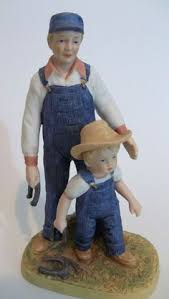 home interior denim days figurines home interior denim days figurine time for thanks with hang tag