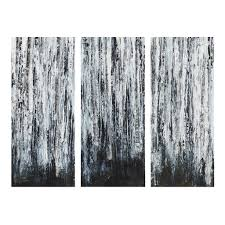 birch wood halloween background amazon com birch forest set of 3 printed canvas with gel coat