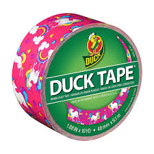 amazon com duck brand 284567 printed duct tape unicorn 1 88