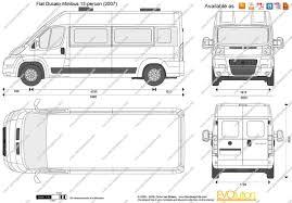 peugeot bipper dimensions the blueprints com vector drawing fiat ducato minibus 13 person