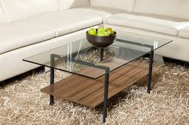 Walnut And Glass Coffee Table Style Your Modern Homes With Sleek Glass Coffee Table Home