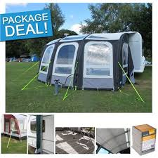 Just Kampers Awning Kampa Ace Air Pro 400 Caravan Awning Package Deal 2017
