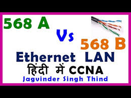 568a vs 568b ethernet cable connection in hindi ईथरन ट