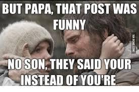 Funny Grammar Memes - 25 best memes about i am become death grammar i am become