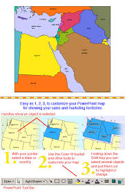 middle east map with country name israel and middle east regional powerpoint map countries names
