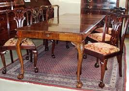 Chippendale Dining Room Furniture Fancy Chippendale Dining Room Furniture Antique Dining Table