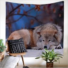 compare prices on wolf wall tapestry online shopping buy low