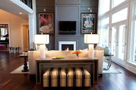 Living Room Console Tables The Console Table Stylish Function