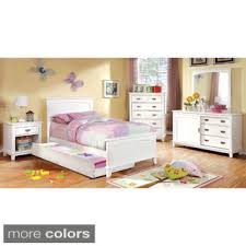 youth bedroom furniture furniture of america kennedy 4 piece platform youth bedroom set