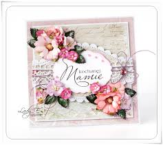 card for mum wild orchid craft dt scrap art by lady e