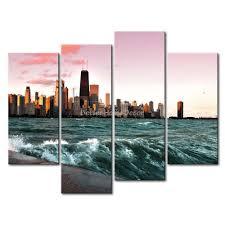 wall art designs awesome chicago wall art vinyl sticker block
