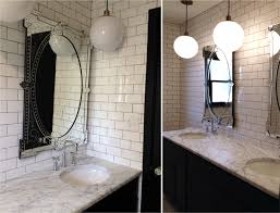 Venetian Mirror Bathroom by Updates On Project Greenbay And A Bathroom Design Christine Dovey