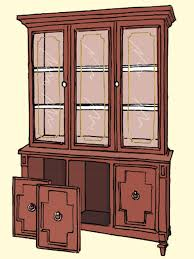 china cabinet 1970s dining room hutch this thomasville china