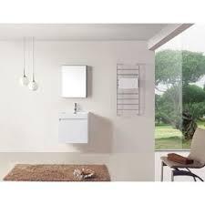 24 White Bathroom Vanity by Modern U0026 Contemporary High Gloss Bathroom Vanity Allmodern
