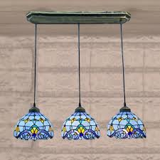 Glass Island Lighting Fixtures Stylish Stained Glass Island Lighting Fixtures Fashion Style