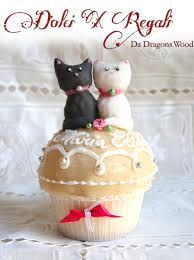 cats cupcake orange curd sponge cake with marzipan cats are