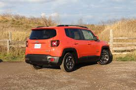 jeep renegade trailhawk orange review renegade screams its jeep ness toronto star